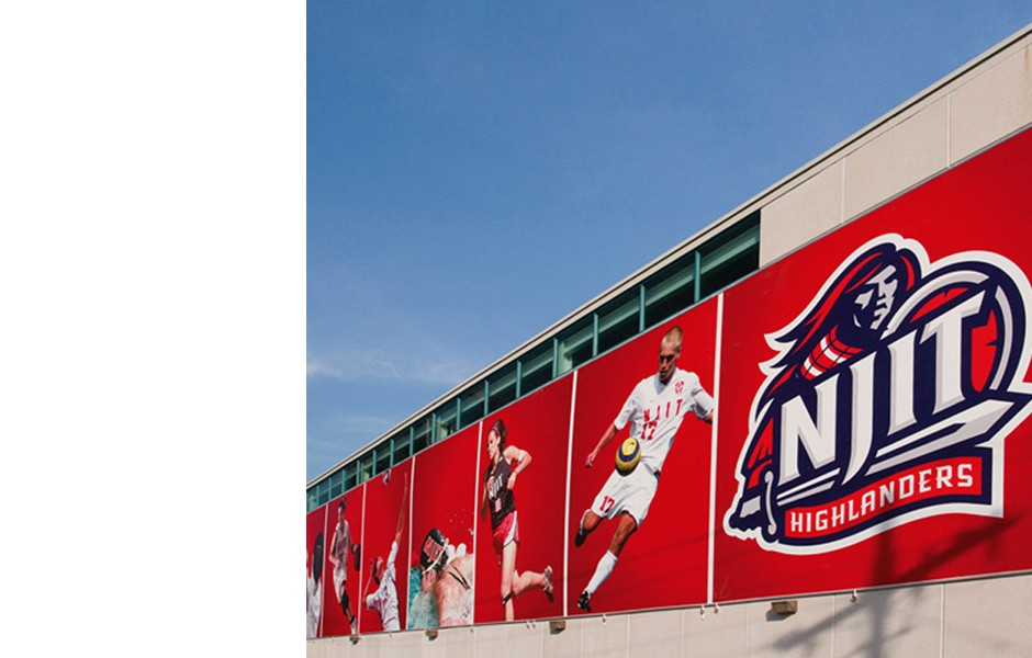 NJIT Athletic Banner