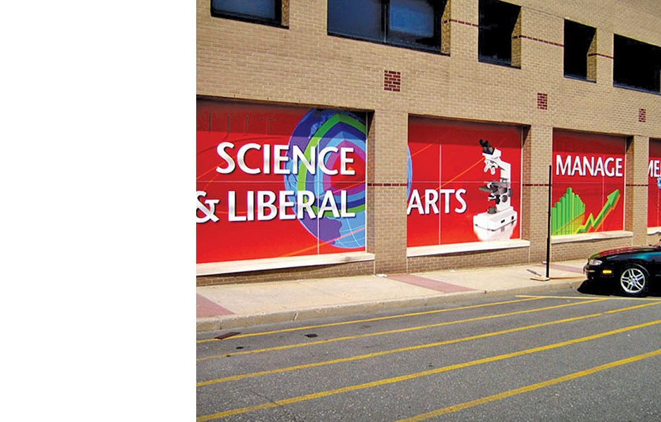 Guttenberg Hall Environmental Graphics