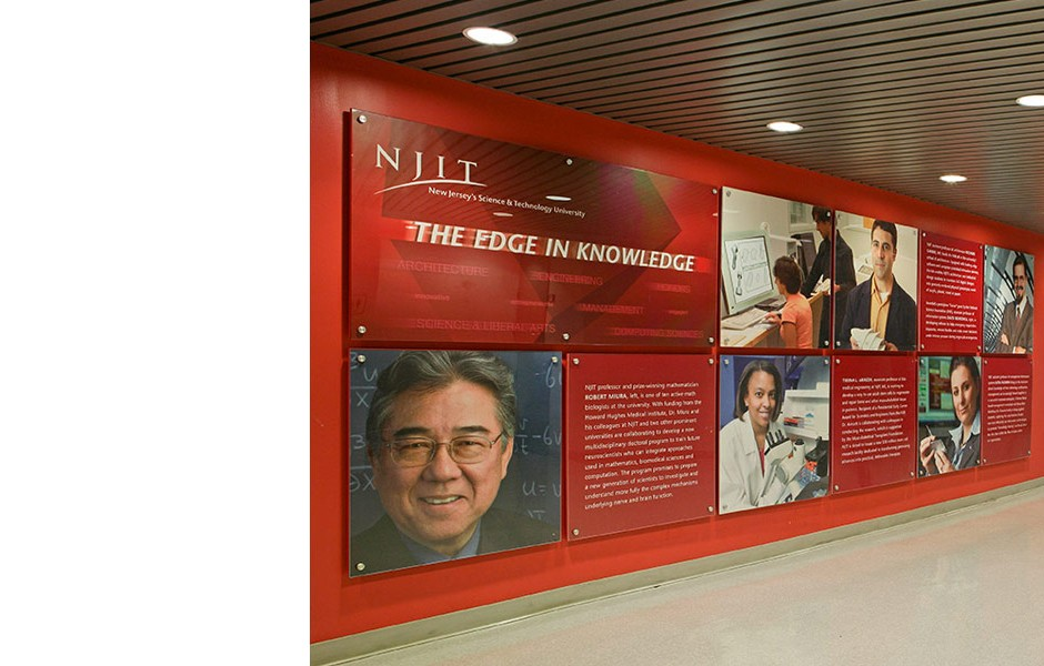 NJIT Wall Display
