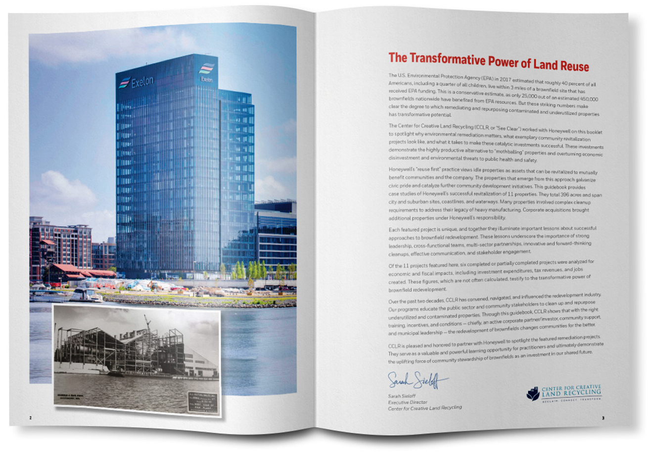 Honeywell Brownfields Brochure