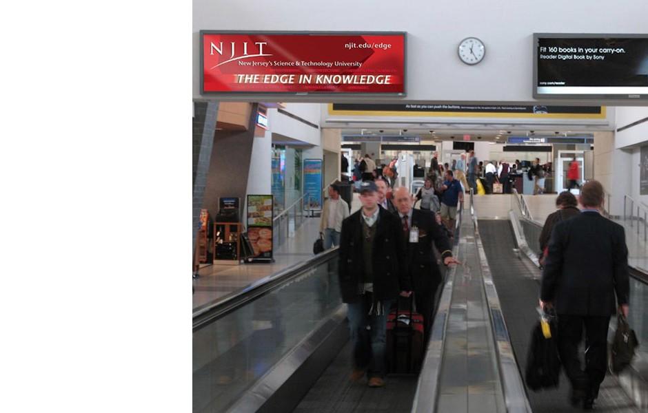 NJIT Airport Advertising
