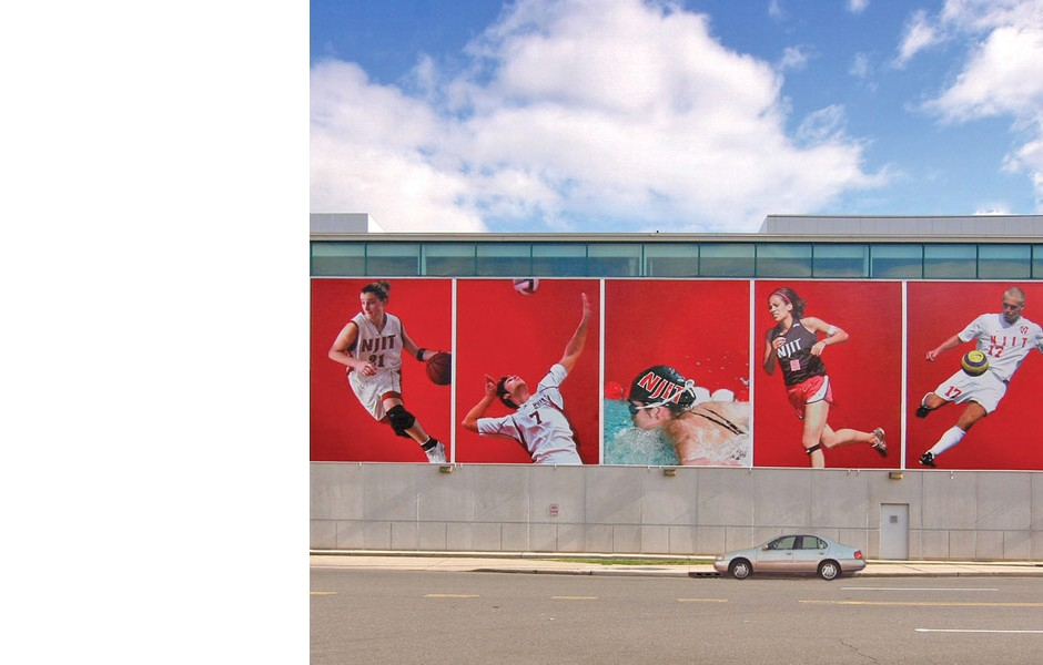 NJIT Athletic Banner