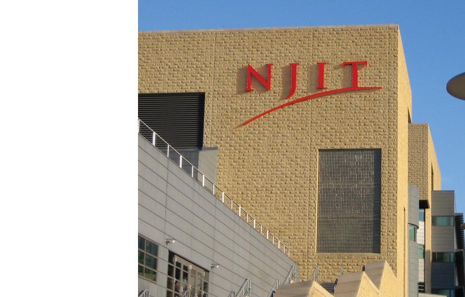 "NJIT Lighted ""Skyline"" sign"