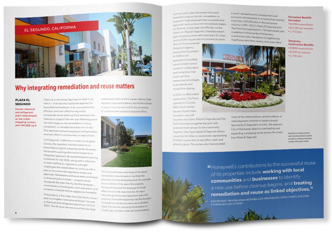 Honeywell Brownfields Brochure