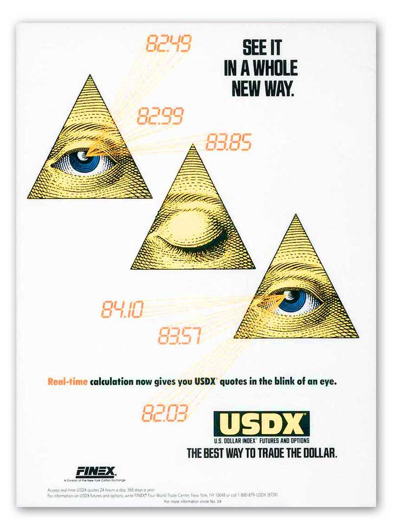 USDX-Triangle
